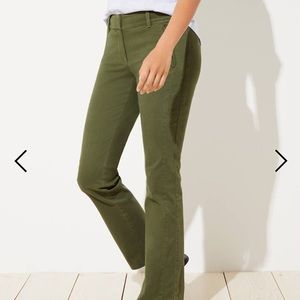 Loft Girlfriend Bootcut Chinos Julie Fit